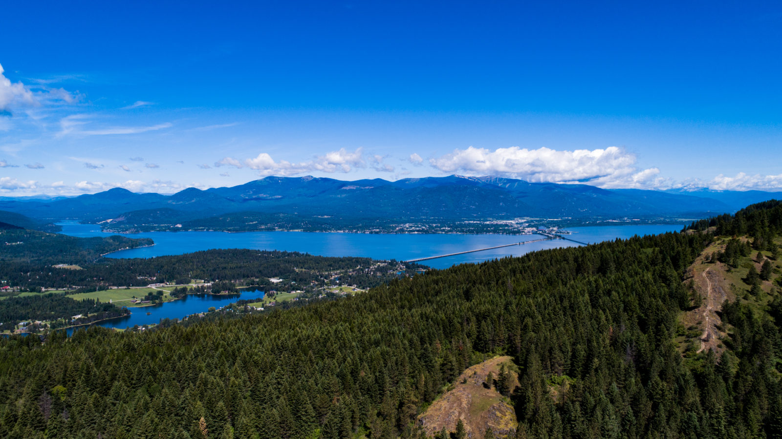 Lake Pend Oreille and Sandpoint